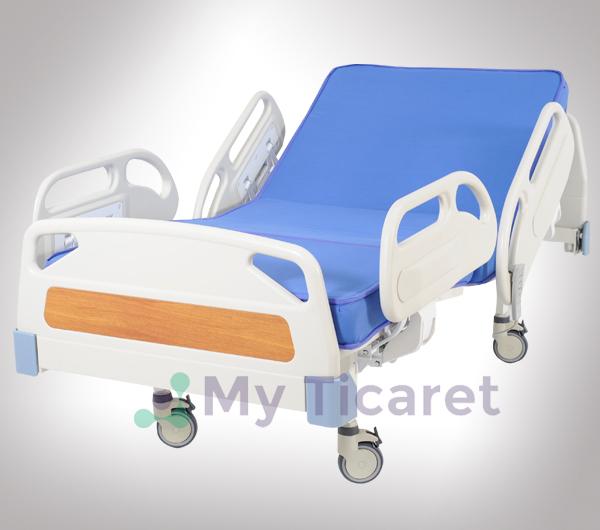Kumandali Yatak Hasta Yatagi 2 Motorlu Hasta Yatagi